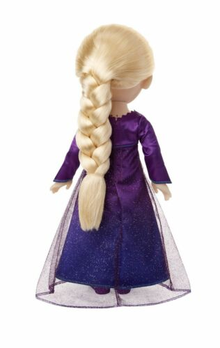 14 Phrases. Disney FROZEN 2 Princess Elsa Interactive Feature Doll Sings