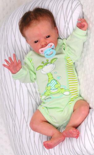 Body Langarmbody Baby 50 56 62 62 68 Erstlingsbody Reborn Babybody Neugeborene