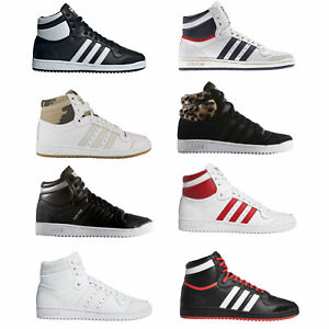 Details about Adidas Originals Top Ten Hi High Womens Trainers Sneakers  Lace Up Shoes- show original title