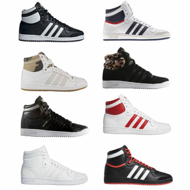 Adidas Originals Top Ten Hi High Women's Sneakers Trainers Lace up Shoes