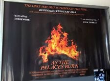 Cinema Poster: AS THE PALACES BURN 2014 (Quad) Lamb of God Chris Adler
