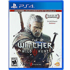 The Witcher 3 III Wild Hunt PS4  Brand New Sealed