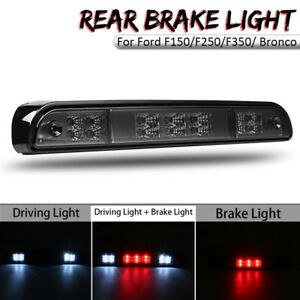 3rd-Smoke-14-LED-Rear-Stop-Brake-Light-Lamp-For-Ford-F150-F250-F350-Bronco-ABS