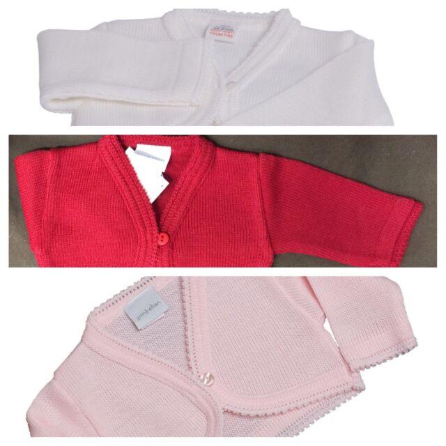 f2effe16e Baby Girls Knitted Bolero Cardigan by Dandelion 3-6 Months White for ...