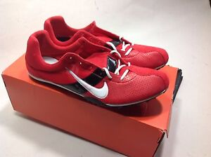 b0d32ee6c627 Rare Nike Zoom Miler Track Spikes Men s us size 15 red white black ...