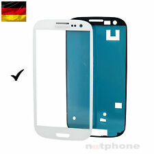 Samsung Galaxy S3  I9301 NEO Display Glas Touch Screen Front Glass WEIß ORIGINAL