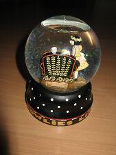 Mary Engelbreit Life Is A Chair Of Bowlies Glitter Snow Globe M E Ink 1997