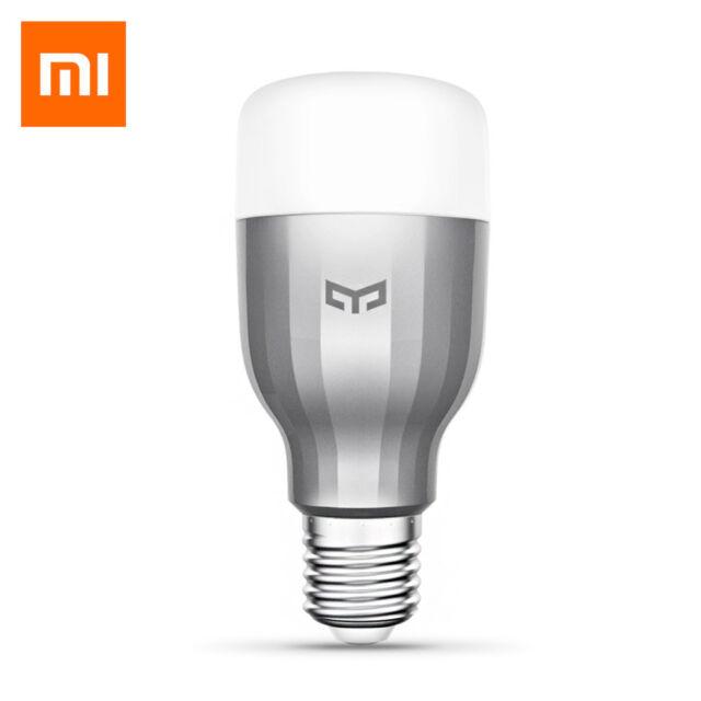 Xiaomi Yeelight RGBW Smart LED Bulb WiFi Enabled 16Million Colors CCT AC220V New