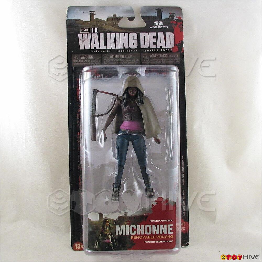 The Walking Dead los fanáticos Michonne Figura De Acción Mcfarlane Juguetes Amc Tv S3 Usado Paquete