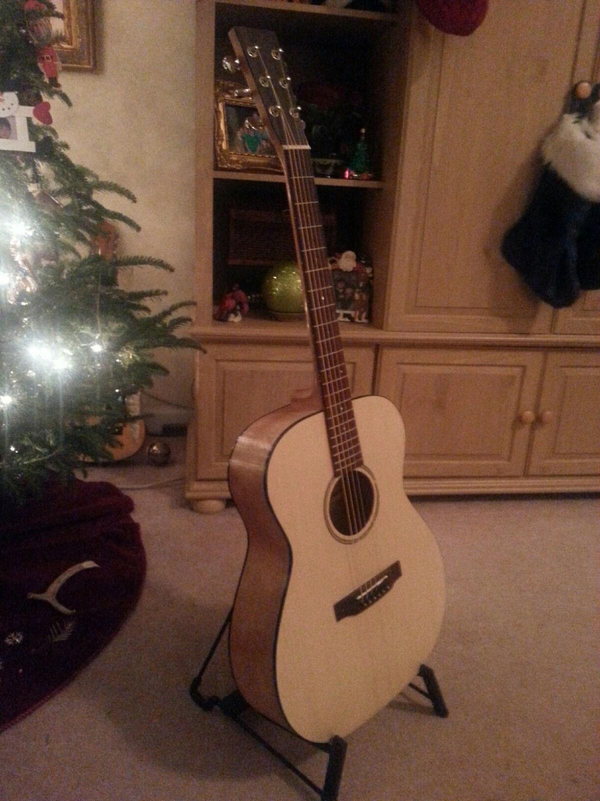 Parlor Gitarre Selbermachen Eigener Set Mahogany-Spruce Oberteil Komplett aus