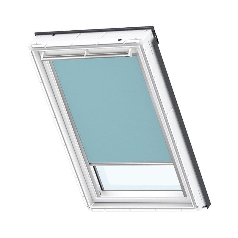 VELUX Verdunkelungs-Rollo Uni Hellblau 4571S Sonnenschutz Manuell DKL | Die erste Reihe von umfassenden Spezifikationen für Kunden