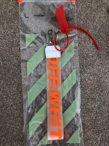 Off White Industrial Keychain Key Buckle lanyard sneaker streetwear Key ring tag