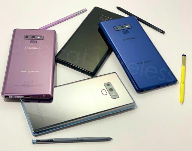 Samsung Galaxy Note 9 N960U 128/ATT T-Mobile Sprint Verizon Carrier Unlocked