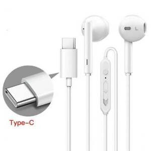 Cuffie Stereo Auricolari In Ear Microfono Usb C Type C Per Huawei P20 Ep20 Pro Ebay