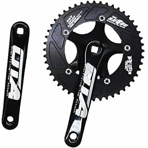 Single Speed Crankset Set 60T 170mm Crankarms 130 BCD Fixed Gear Bicycle Cycling