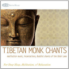 TIBETAN MONK CHANTS CD: Meditation Music, Incantations, Buddist Chants, Yoga NEW