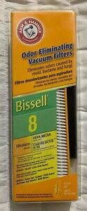 Bissell-Odor-Eliminating-Vacuum-Cleaner-Filter-8-Arm-amp-Hammer-62648A-New