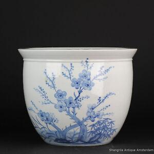 Large Blue White Chinese Porcelain