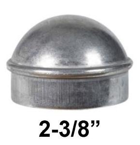 "6-pc 2-3//8/"" Post Cap Aluminum Chain Link Fence Gate Cap"