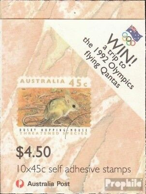 Australia Mh73i With Phosphorbalken Fine Used Cancelled 1992 Affected Animals Promoting Health And Curing Diseases Stamps