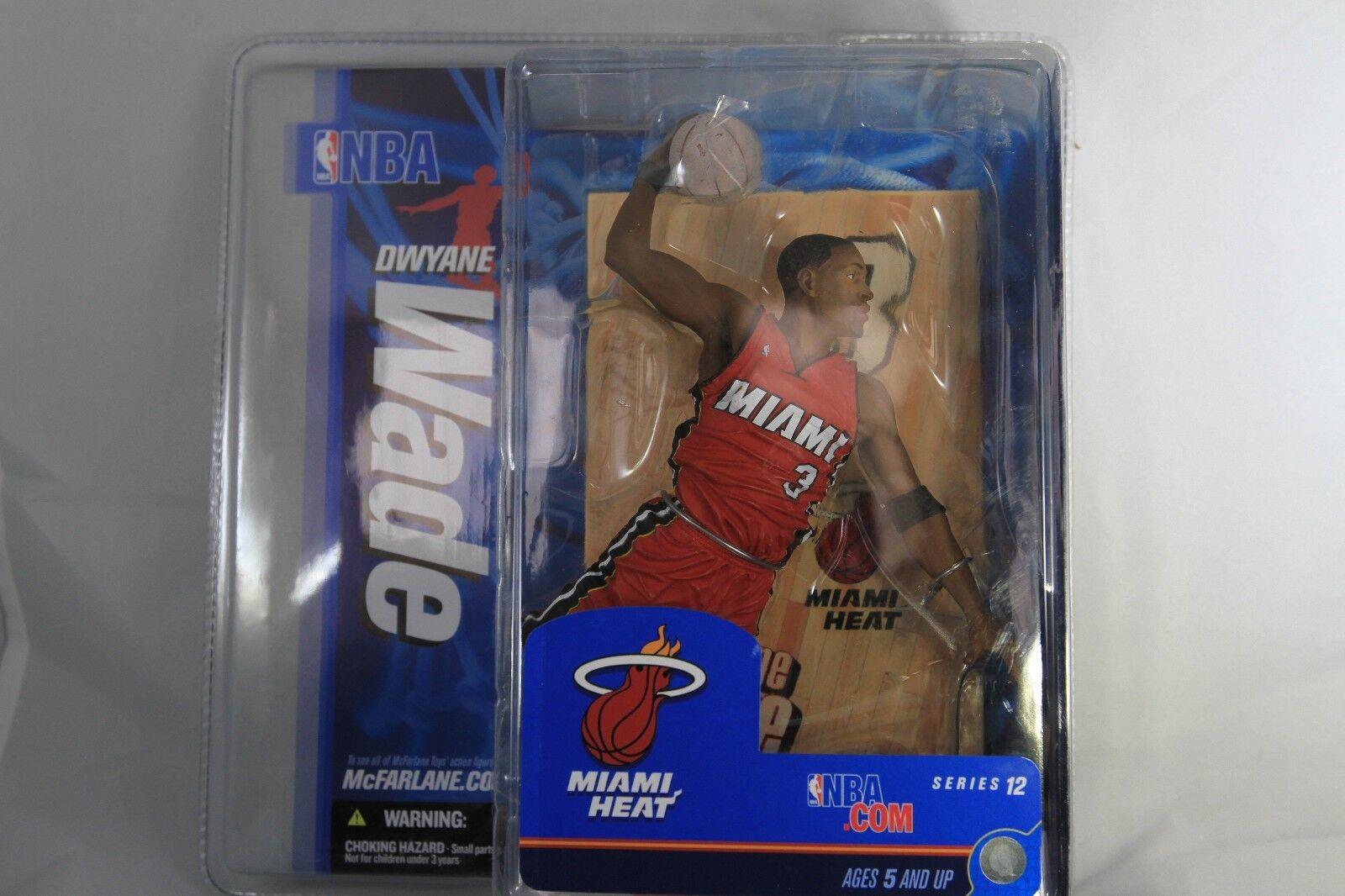DWYANE WADE WADE WADE - McFarlane NBA 12 - Red Jersey Variant - Heat - NIP 1fdc64