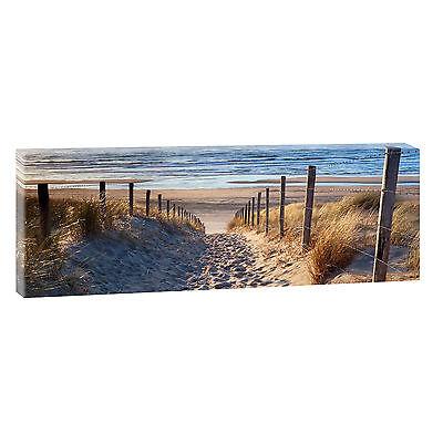 Meer Strand  Bilder  Keilrahmen Leinwand  Poster XXL 150cm*50cm 520 Mykonos