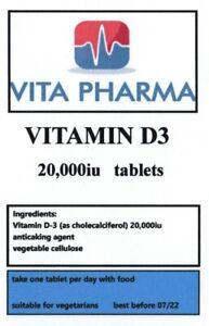 La-vitamina-D3-20-000IU-365-Compresse-Forza-Massima-Sole-Ossa-sistema-immunitario