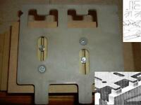 Universal Tenon Template Jig For Mortise & Tenon Style Joints Joinery, Dovetail