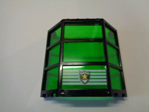 30185 LEGO Fenêtre Travée Noir 3x8x6 Windows Trans Green Police