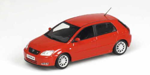 Minichamps 400166171 Toyota Corolla 2001 rot 1:43 NEU//OVP