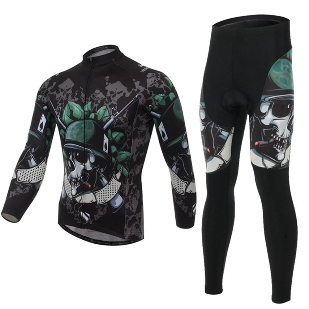 26bb91bb9 Men s Leisure Cycling Clothing Bicycle Long Sleeve Cycling Jerseys Sets  S-3XL