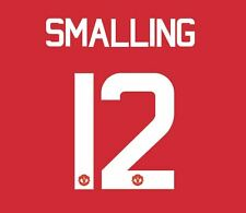 Smalling 12 Manchester United 2017 Europa Final Football Nameset for shirt