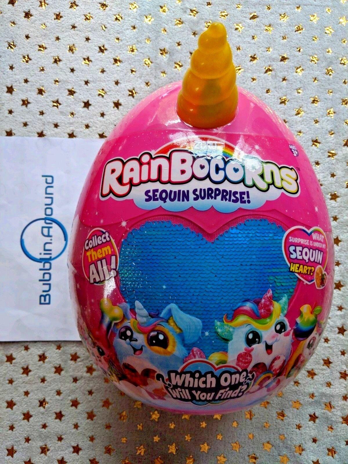 Rainbocorns Sequin Surprise - Melody - Hot Rosa Monkey Rainbocorn