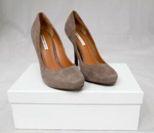 amp-Other-Stories-Suede-Beige-Pump-3-034-High-Heel-Shoes-UK-5-LOT-S25