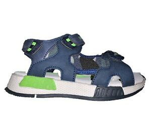 LUMBERJACK-Corsy-Sandals-Baby-Shoes-Camouflage-Blue-Trivelcro
