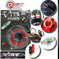 Vibe Slick 8 AWG Gauge VSAWK8-V1 1500W Car Van Amp Amplifier AWK8 Wiring Kit