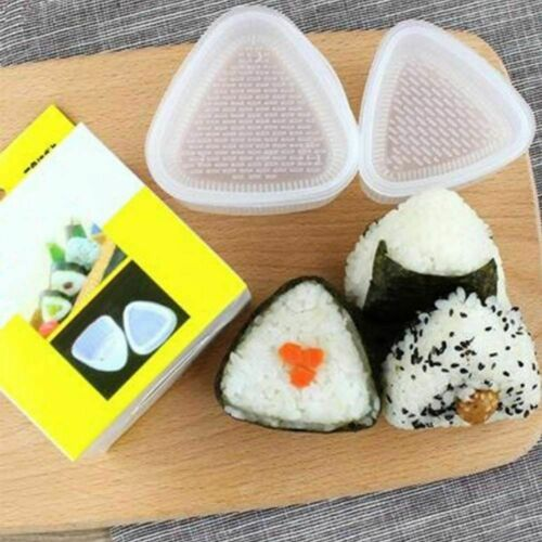 Triangle Sushi Mold Food Grade Plastic Non Toxic DIY Rice Ball Making Moulds
