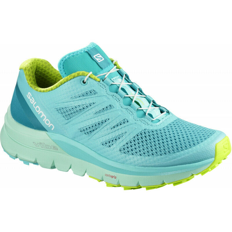 Womens Salomon Sense Pro Max Womens Trail Running shoes - bluee