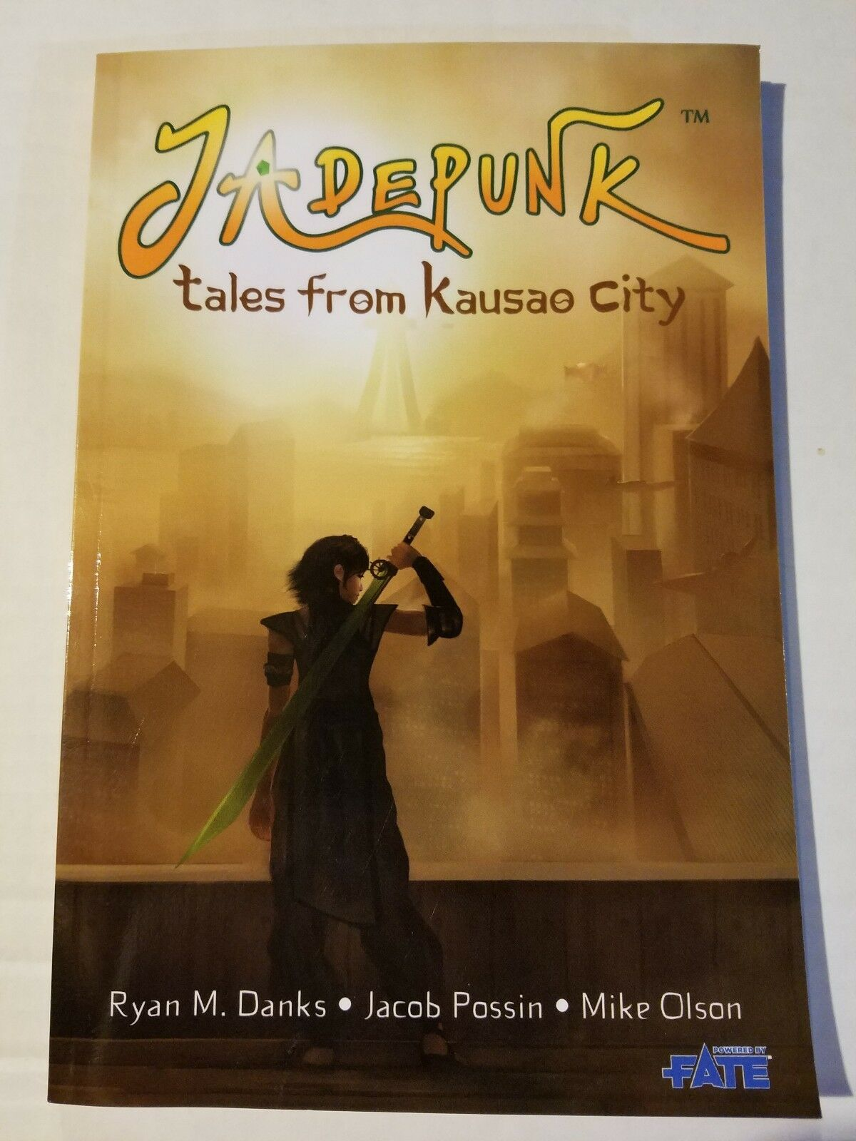 Jadepunk - Tales from Kausao City Fate rpg  New ReRoll Productions
