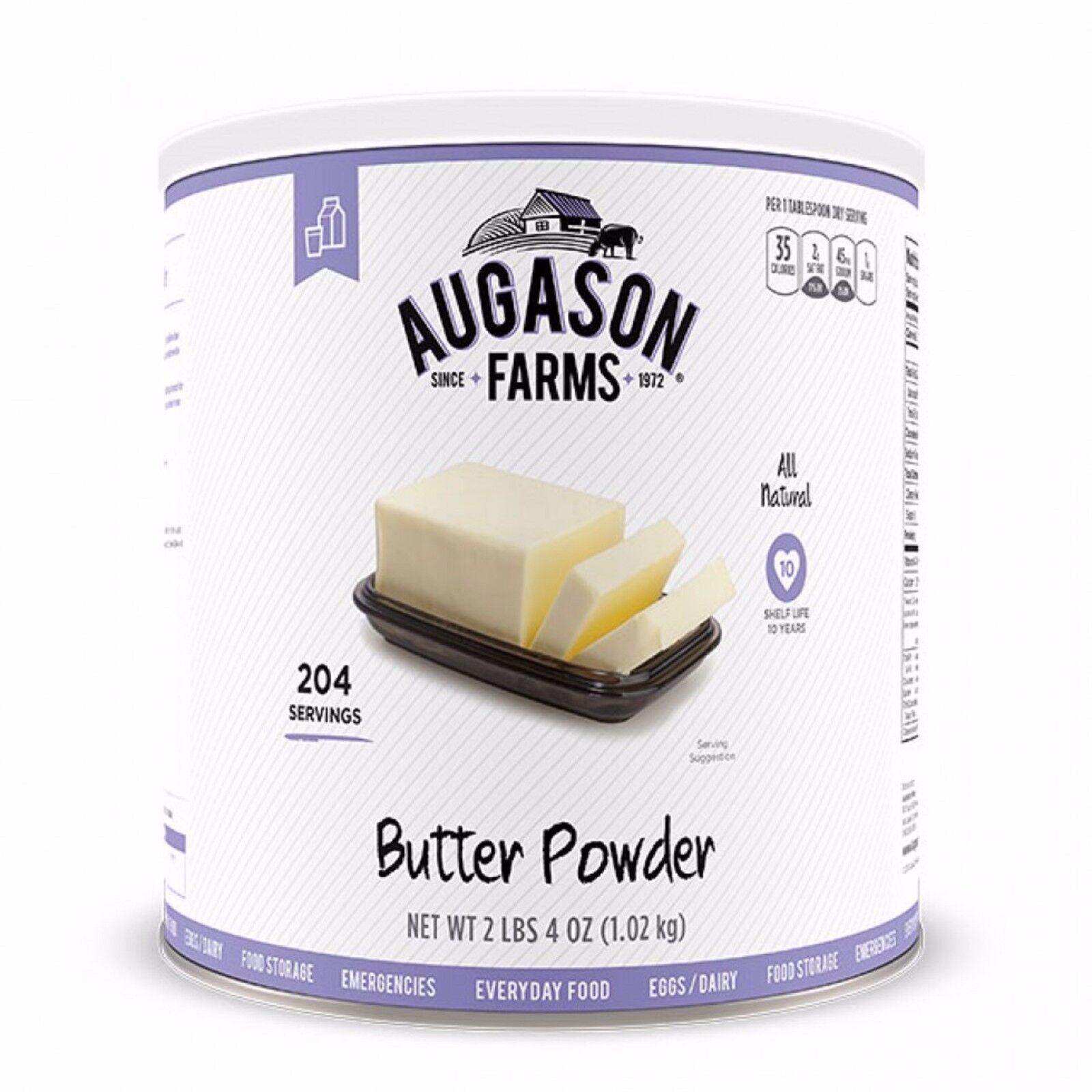 Augason Farms Butter Powder 36 oz Emergency Survival Camping Outdoor Food