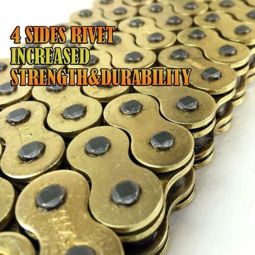 Details about  /Gold 520 120L CHAIN 120 LINKS O-RING MOTORCYCLE YAMAHA  R46  MT-03 SZR660 XTZ660