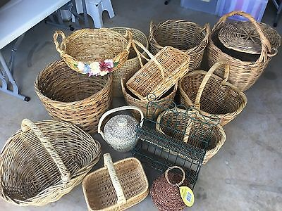Cane Baskets - Used But In Great Condition - All Sizes - $6 - $20.00