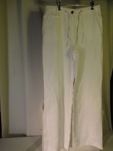 Gerard Di Pantaloni 38 Bianco Lino Darel Ctfqdf