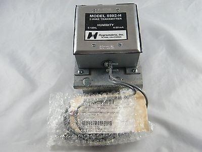 HYGROMETRIX 8502 H HUMIDITY TRANSMITTER  W// SENSOR  NEW