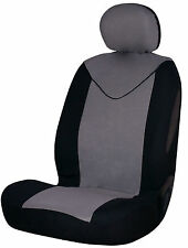 Sumex Unicorn Universal Single Padded Foam Front Car Seat Cover in Grey & Black