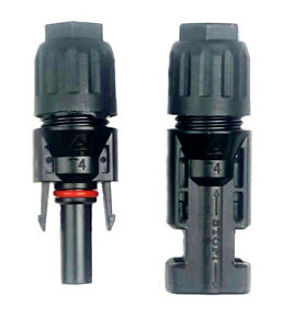 Pair M/F SanTan 30A Solar Connector for Solar Panel PV Cable Wire