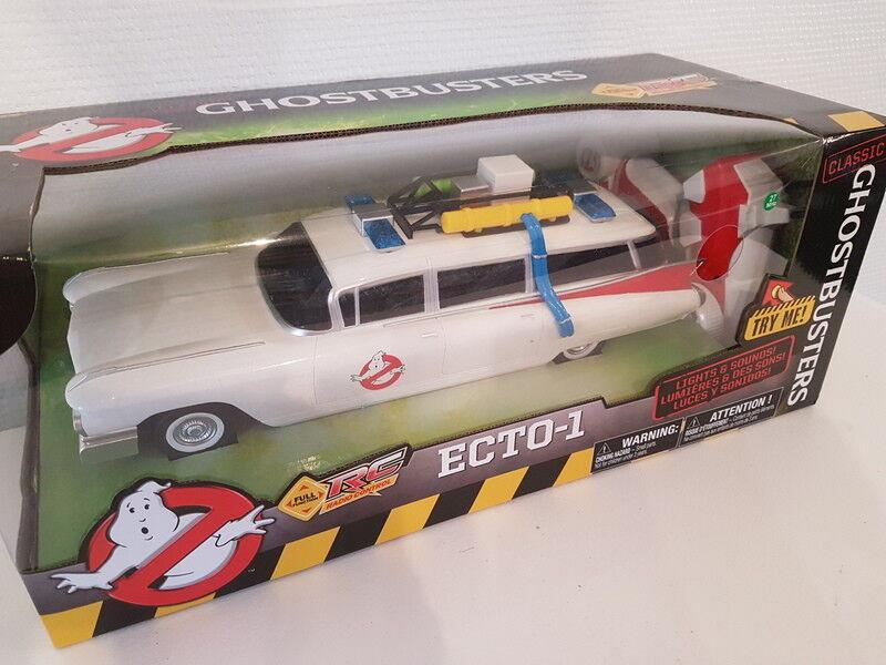 SOS Fantômes véhicule radiocommandé 1 16 Classic Ecto-1 35 cm ghostbusters