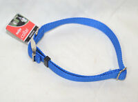 Medium Blue Dog Adj. Collar 5/8 Size M 14-20 Inches Meijer