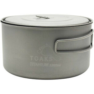 TOAKS Titanium Short Handle Spoon Cookware Outdoor Camping Hiking Cooking