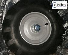 """RUOTA POSTERIORE DESTRA 8"""" & pneumatico per letame-Camion ® Power-Barrows-Motorizzato CARRIOLA"""